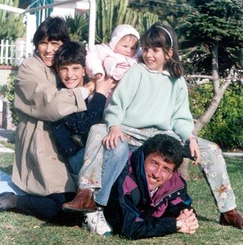 foto famiglia galli