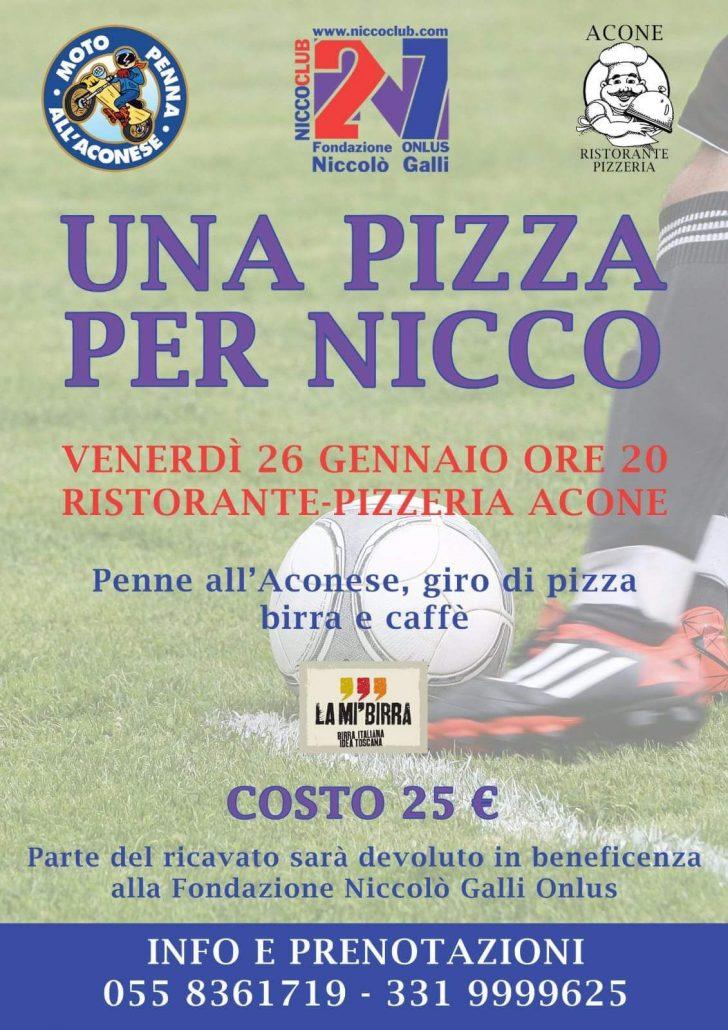 Una Pizza Per Nicco