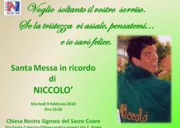Santa Messa in ricordo di Niccol_ 9 febbraio 2010_800x800